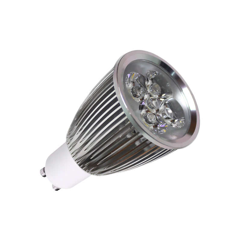 Bombilla LED GU10 6W,  high power, Blanco frío